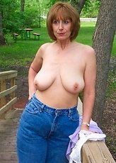 outdoor mom sex